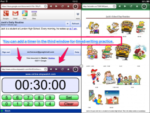 Add Timer for Timed Writing Practice